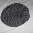 newsboy Bees Vintage Men's hat Gray Black tweed driving cap Cabbie hat golf hat mens 108