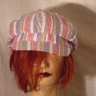Striped Cap Nine and Company cabbie hat newsboy hat - 50