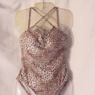 Swimsuit Animal print Women's swim suit  size S  #52