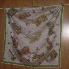 scarf vintage scarf Curacoa Island Caribbean Sea Buildings Tourist sites  52
