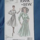 Kwik Sew Dress Pattern 1258   #59