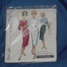 McCalls b100 try on pattern information booklet and instruction sheet #59