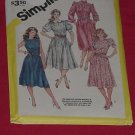 Simplicity Dress Pattern Size 16 -18-20 Size U 5990    #59