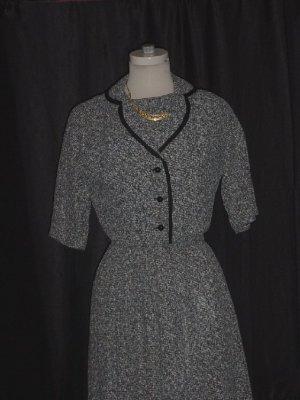 Womens Tweed vintage dress and jacket Tweed pleated bolero jacket  #63