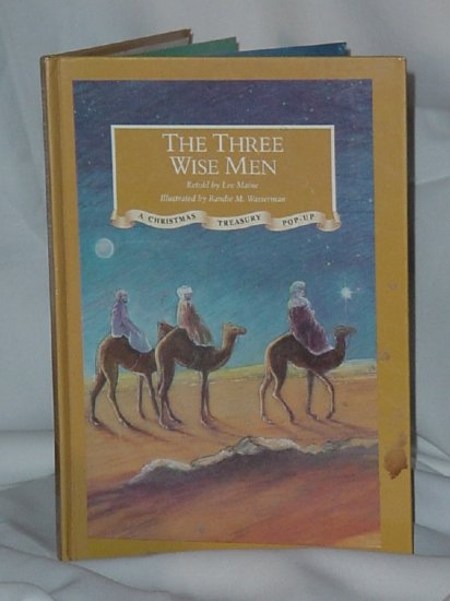 Three Wise Men Pop Up Book 1991 Retold by Lee Maine