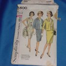 Simplicity Pattern Suit and Blouse 4800 Size 16 Bust 36 76