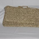 Walborg gold crocheted small evening purse Made Italy No. 77