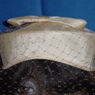 Light Beige hat 50s style womens hat  No. 82