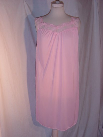 Free bust Pink Nightgown  No. 81