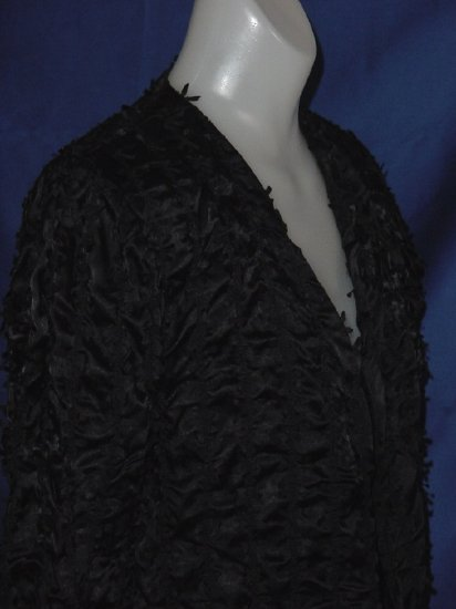 Black ribbon Jacket Jo Hardin Originals Dallas Size 6 No. 23