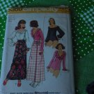 Pattern 5360 Simplicity Size 14 Bust 36 Bodysuits Wrap Tie Skirt Bodysuits stretch knits No. 5