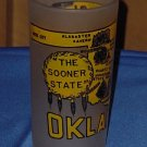 Souvenir Vintage Drinking Glass Oklahoma Sooner State No. 81