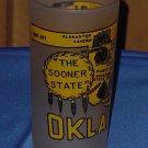 Souvenir Vintage Drinking Glass Oklahoma Sooner State No. 81