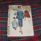Simplicity 1950s 1960s Maternity Pattern 1317 Size 13 Bust 31 Jumper  No. 30