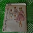 Simplicity Pattern 4829 Child's and Girls' Size10 28 Chest one piece dress  No. 30