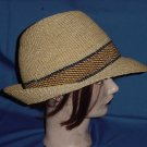 Mans hat tall crown circumference 24 woven  No. 86