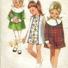Butterick 4670 Pattern One piece dress Child size 4 Bust 23  No. 86