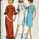 Simplicity Pattern 6514 Jr. Petite Size 11 Bust 33 dress two lengths No. 86