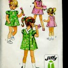 Simplicity Sewing Pattern 8669 size 1 Chest 20 Child 1969 vintage pattern  No. 86