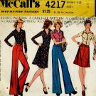 McCall's Sewing Pattern 4217 Size 12 Bust 34 shirt skirt pants  No. 86