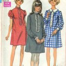 Simplicity Maternity Sewing Pattern 8004 Size 16 Bust 38 1968 pattern  No. 86