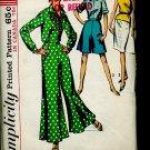 Uncut Simplicity Pattern 5975 Vintage Miss size 12 bust 32 blouse skirt culottes  No. 86