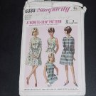 Vintage Simplicity Pattern Sub-Teen Dress Size 10s Bust 29 Pattern 6330  No. 116