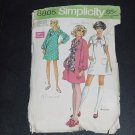 Mini Dress 2 piece Vtg Simplicity Pattern Misses Dress Size 9 10 Bust 30 1/2 Pattern 8805  No. 31
