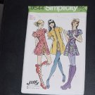 Mini dress short shorts Simplicity sewing pattern 9544 uncut Pattern  No. 116
