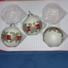 Christmas tree ornaments 3 vintage ornaments #91