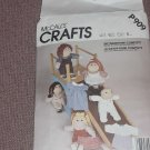 McCall's Craft Pattern P909 The Wardrobe Complete for 16 inch soft sculpture doll  No. 99
