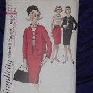 Simplicity Vintage Suit Blouse Sewing Pattern 5106 Size 16 Bust 36 No. 99