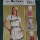 Butterick sewing pattern 5302 Rachel Wallis aprons Uncut No. 101a