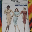 Vogue Patterns Vogue dress 7069 cut Size 8 12  No. 101a