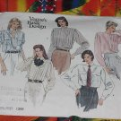 Vogue's Basic Design Shirt pattern 1398 Uncut Size 12  No. 101a