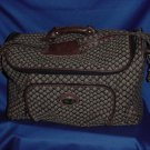 Diane Von Furstenberg shoulder carry on overnight bag duffle tote travel bag case Luggage carry all