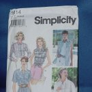 Simplicity Sewing Pattern Shirts uncut pattern 9014  Size Y 18, 20 22 no. 103a