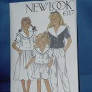 New Look Simplicity Pattern Jacket Skirt Trousers Shorts uncut 6117 Girls sizes 3-10 no. 103a