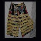 Dancewear Costume wide pant leg fringe rhumba pants Outfit Costume  No. 108