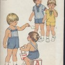 Simplicity Sewing Pattern size 3 Toddler shirt overalls 5647 pattern   no. 108