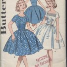 Butterick pattern 9676 sub teen full skirted dress size 10S Bust 29 sewing pattern No. 110