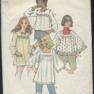 Misses smock tops 5341 size 8-10 1972 pattern    no. 110