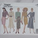 Vogue Basic Design 2987 dress sewing pattern size 6-8-10   No. 110