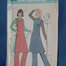 Uncut tunic Simplicity Pattern 7426  Size 10 No. 111