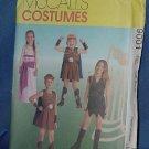 Uncut McCall's Costume Pattern size CE 3, 4, 5 Pattern 9001   No. 111