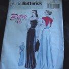 Uncut Retro Butterick '48 pattern B5136 Uncut Size AA 6-8-10-12  No. 111