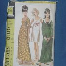 McCall's Teen dress size 9 Pattern Cut 8185 Bust 30 1/2 No. 112