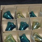 Bell shape Christmas Ornaments small Vintage Christmas Decorations  No. 114