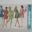 Simplicity pattern 8430 Junior size 9 Dress mini dress No. 48