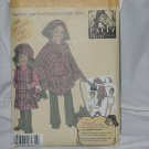 Simplicity pattern Girls fleece pants jumper poncho hats purse 4898 No. 116